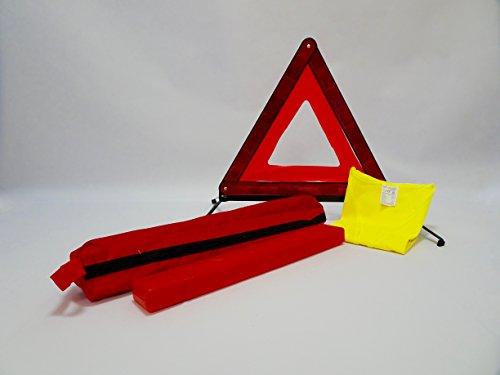 Kit sécurité (1 triangle + 1 gilet jaune + house)
