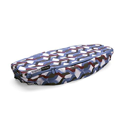 Bugaboo - Cubierta para cesta de equipaje lateral para donkey 2 olas multicolor