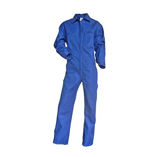 LMA–Mono de trabajo, de lienzo, color negro y camel, azul, 400441 TALOCHE