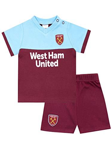 Premier League Baby Boys West Ham United FC Pyjamas Multicoloured Age 3 to 6 Months