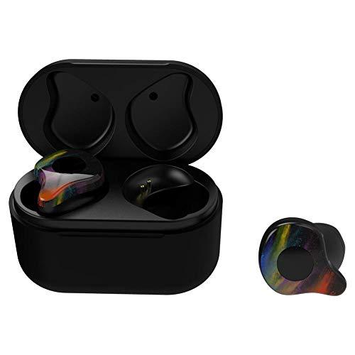 Bicaquu Auricular Bluetooth Micrófono económico Ergonómico Calidad de Sonido Claro Auricular inalámbrico...