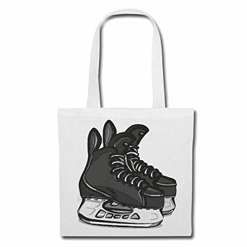 Tasche Umhängetasche Schlittschuhe Eishockey Eiskunstlauf EISLAUFEN EISHALLE SCHLITTSCHUH SCHLITTSCHUH SCHLITTSCHUHBAHN Eishockey Schlittschuhlaufen KUFEN Einkaufstasche Schulbeutel Turnbeutel in W