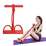 Pull-Ropes Rower Fitness-Equipment Belly-Resistance-Band Exerciser Sport-Training Home