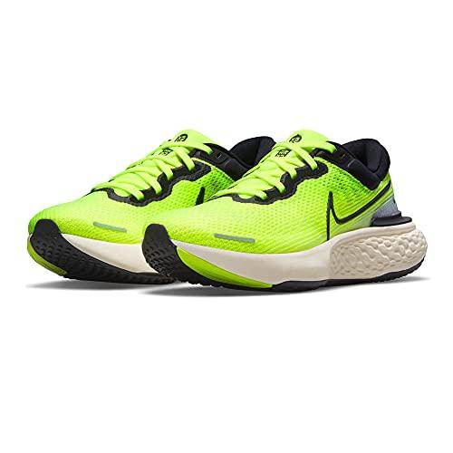 NIKE CT2228 ZoomX Invincible Run FK, Zapatillas de Running para Hombre, Amarillo/Negro, EU 43