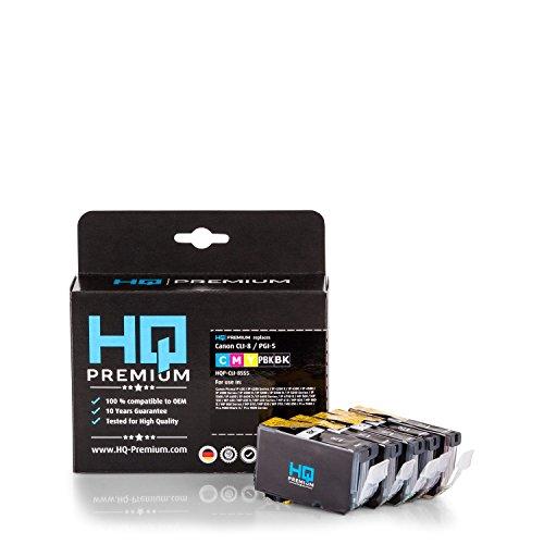 HQ-Premium Tintenpatronen Multipack ersetzt Canon PGI-5 / CLI-8