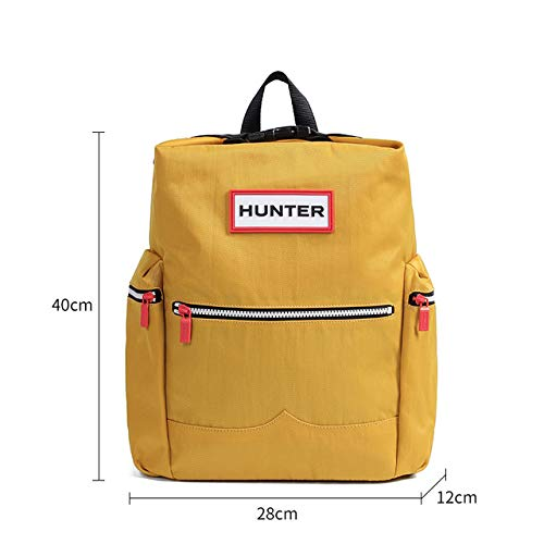 Backpack Waterproof Nylon 14-Inch Laptop Backpack with Parachute Clip Large Lightweight Travel Backpack