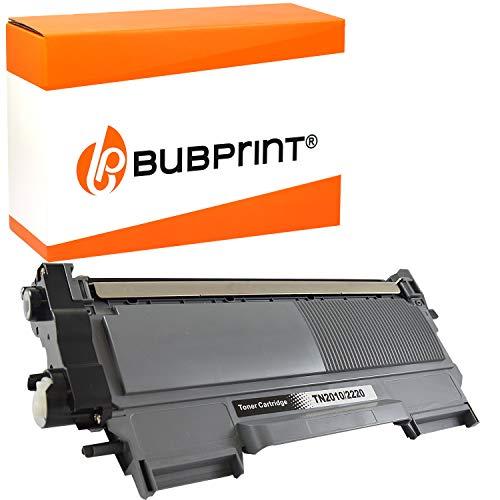 Bubprint Toner kompatibel für Brother TN-2220 für DCP-7055 DCP-7055W DCP-7065DN HL-2130 HL-2135W HL-2240 HL-2240D HL-2250 HL-2250DN MFC-7360 MFC-7360N MFC-7460DN MFC-7860DW Fax 2840 Schwarz