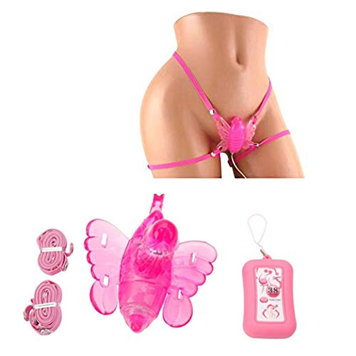 Wireless B-Ü'T'Terfly Wearable Vibe Pleasure Sexcv Toys Quiet Power, Pink Massage Toy