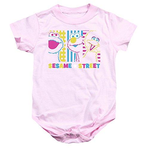 Sesame Street - Barboteuse - Bébé (garçon) - rose - 18 mois