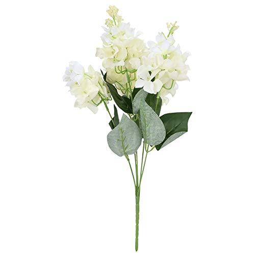Hortênsia Artificial, Flor de Hortênsia Decorativa Flor de Hortênsia Artificial, Escritório para Mesa de Jantar Mesa de Conferência Festa