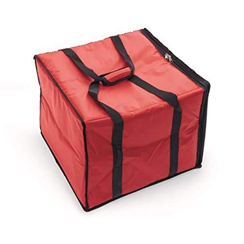 Gastro Spirit Pizzatasche Isoliertasche Transporttasche Liefertasche für 2 Pizzen bis Ø 40 cm