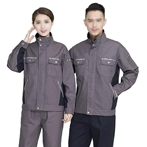 BBGS Traje de Caldera para Hombre,Mecánica Tapa Protectora Polialgodón en General Pantalones y Abrigos Pantalón Boilersuit (Color : Style 1, Size : L)