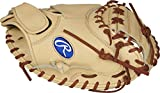 Rawlings Heart of The Hide Salvador Perez Model Catchers Glove, 32.5 inch, 1-Piece Solid Web, Camel, Model:PROSP13C