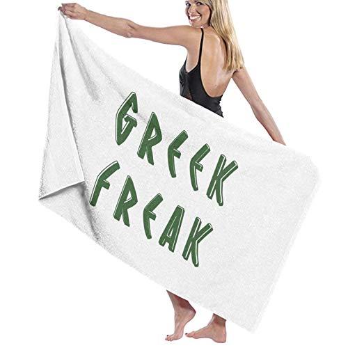U/K Toalla de baño Greek Freak de secado rápido