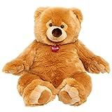 Premium Italian Designed Trudi Ettore Giant Teddy Bear, Big 22-Inch Plush, Amazon Exclusive, Brown Bear
