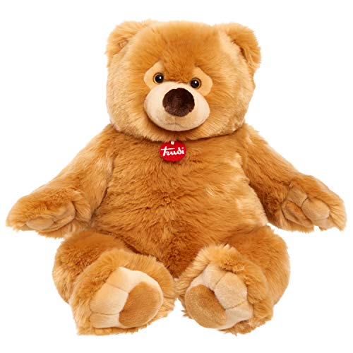 Trudi Premium Italian Designed Ettore Giant Teddy Bear, Big 22-Inch Plush, Amazon Exclusive, Brown Bear