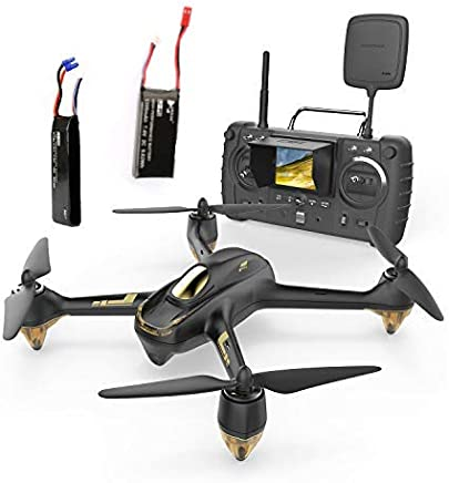 $175 Get HUBSAN H501s x4 Pro 5.8G FPV Quadcopter Headless Mode GPS RTF Drone with 3M Pixel Camera (High Version) Black