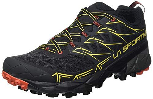 La Sportiva Akyra, Chaussures de Trail Homme, Noir (Negro 000), 43.5 EU