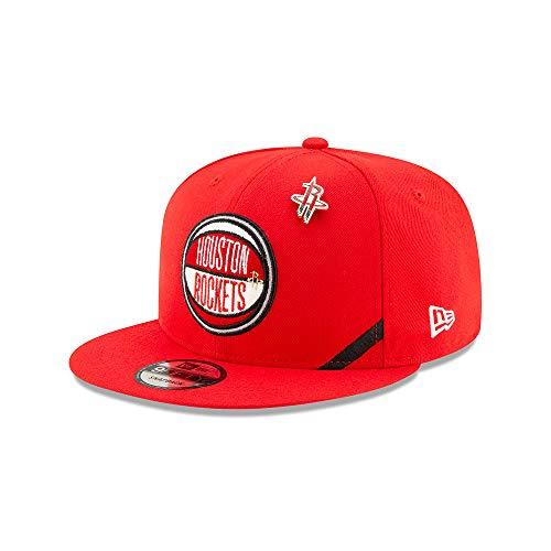 New Era - NBA Houston Rockets 2019 Draft 9Fifty Snapback Cap - Rot Größe One Size, Farbe Rot