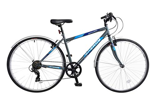 Natural Energy Mens Crossbar Trekking Bicycle, 700c, 6 Speed - G