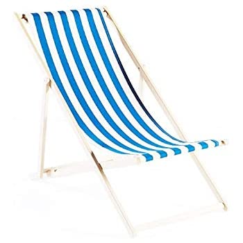 Esoes 2 Pcs 1:12 Miniature Foldable Wooden Beach Chair