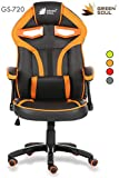 Green Soul Alien Series Gaming/Desk Chair in PU Leather and Mesh (GS-720)