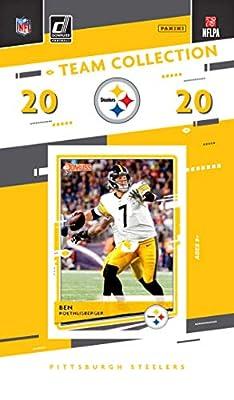 2020 Panini Football Pittsburgh Steelers Team Set 11 Cards W/Drafted Rookies