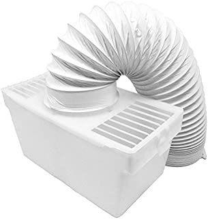 Spares2go Condenser Vent Box & Hose Kit for Indesit Tumble Dryers (4