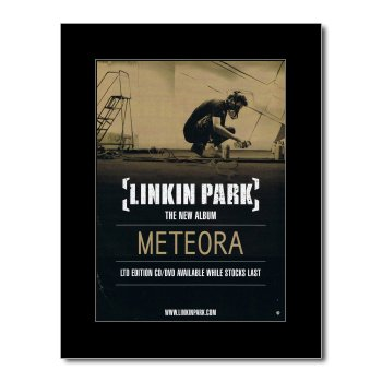 Music Ad World Linkin Park - Meteora Mini Poster - 28.5x21cm