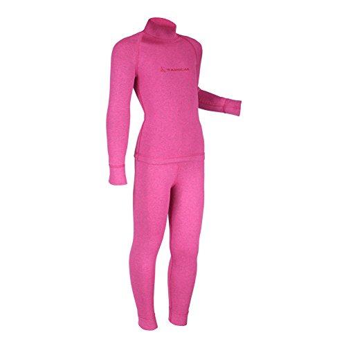 ROUGH RADICAL Kinder Funktionswäsche Set Shirt & Hose Thermowäsche (128/134, PINK pink)