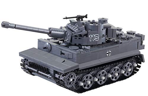 Oxford IMEX Tiger I Tank Building Blocks Set 689 Pieces