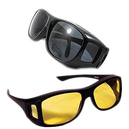 Buy Alfa Mart- Hd Vision Wrap Around Sunglasses Fits Over Your Prescription Glasses