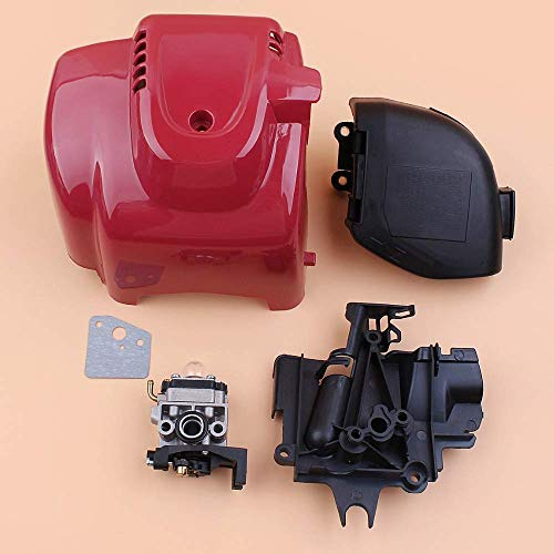 FEIFUSHIDIAN Reemplazo Tapa del Cilindro del Motor de carburador Toma de Aire del Filtro Kit for Honda GX35 GX35NT HHT35S UMK435 Pequeño Gas Motor Strimmer Desbrozadora Presión