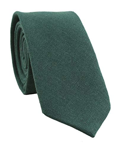 Levao Men's Cotton Skinny Necktie S…