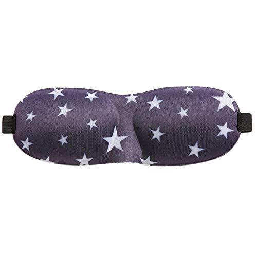 Máscara de Ojos para Dormir, Esponja Sleep Eye Mask, Sleep Goggles Slow Earplug, para el Trabajo de Viaje de Vuelo E