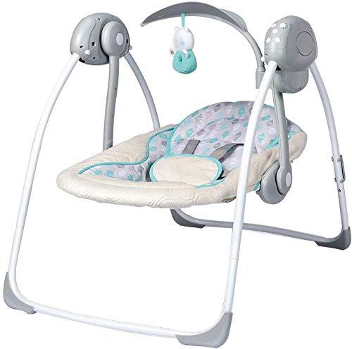 Elise elektrische babyschommel, schommelstoel, draagbaar, ergonomisch design, max. 110 kg draagkracht.