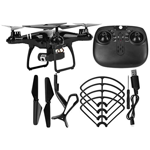 Zer one1 WiFi Folding Drone, Portable WiFi Drone, High Definition S608 Altitude Hold for Remote Control(Black 4K Pixels)