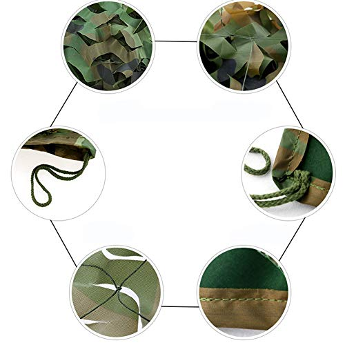 QIANGDA Camouflage Net Camo Netting Woodland Oxford Fabric For Military Camping Hide, Party Decorations 4 Colors Choice (color : Marine camouflage, Size : 2x3M)