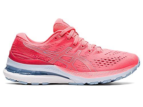 ASICS Women's Gel-Kayano 28 Running Shoes, 6.5M, Blazing Coral/Mist
