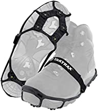 Yaktrax Spikes for Walking on Ice and Snow (1 Pair), Large/X-Large , Black