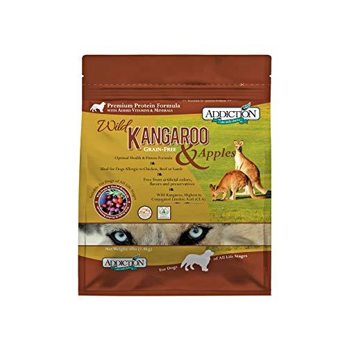 AddictionS Wild Kangaroo & Apple Dog 4 Pound Bag