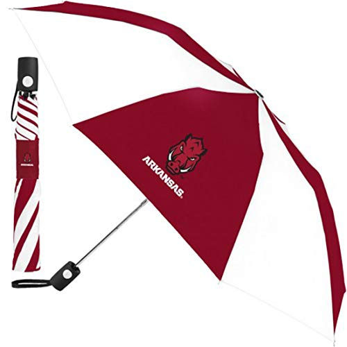 New WinCraft NCAA Arkansas Razorbacks Automatic Umbrella, 42 inches