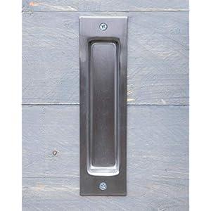 IGNPION - Tiradores para puerta corredera de acero inoxidable, 2 ...