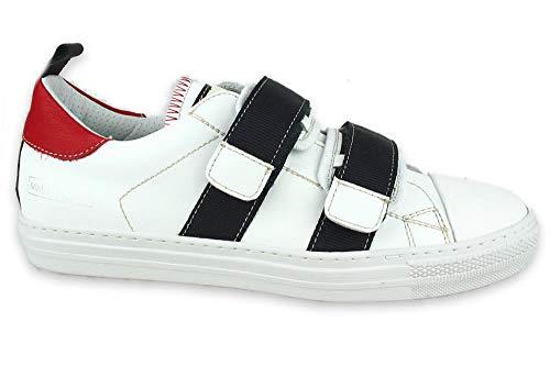 Momino Mistral Bianco Sneaker ungefüttert Schuhgröße 40