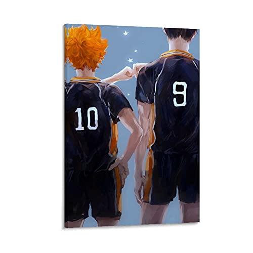 GIUU Haikyuu - Poster da parete con stampa artistica di Haata Kageyama, 20 x 30 cm