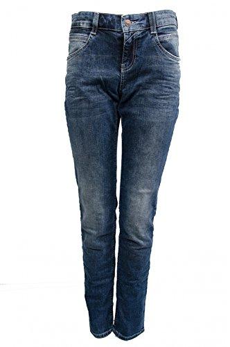 MAC Carrie Pipe Dynamic Damen Jeans Hose 0311l594090 D690, Farbe:D690 Dark Authentic Used;Größe:W36/L32