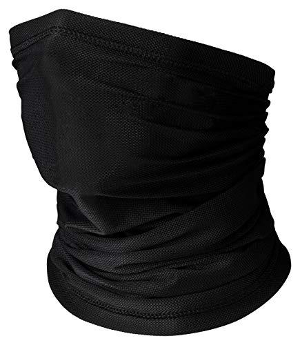CYCLEHERO Gesichtstuch: Schlauchschal winddichtes Multifunktionstuch gefütterter Nackenwärmer für Outdoorsport Halstuch Funktionstuch Sturmhaube (Atmungsaktiv)