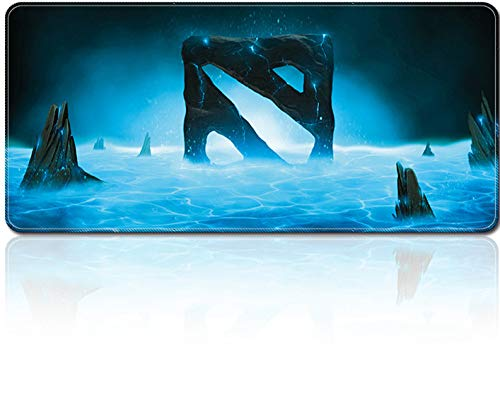 Smaige XXL Extended Gaming Mouse Mat/Pad - Large, Wide (Long) Mousepad, Stitched Edges | 31.5'x15.7'x0.12' Dimensions (Dota 2)