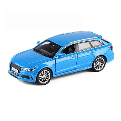 Vehículo de Juguete 1:32 para Au&di para RS6 Aleación Die Cast Model Car Pull Back Sound Light Juguetes Cars SUV Supercar Kids Car Colección De Regalos (Color : 2)