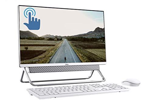 "Dell Inspiron 24 5000 Series All-in-One Desktop, 23.8"" FHD Touchscreen Display, 10th Gen Intel Quad-Core i5-10210U (>i7-8550U), 16GB DDR4 256GB PCIe SSD + 1TB HDD, MaxxAudio FHD Camera USB-C Win 10"